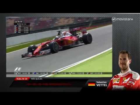 Gran Premio de España en las radios de los pilotos