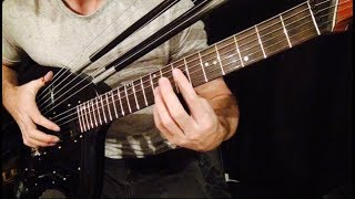Bitter Sweet Symphony - The Verve - Harp Guitar Cover (Chill Version)