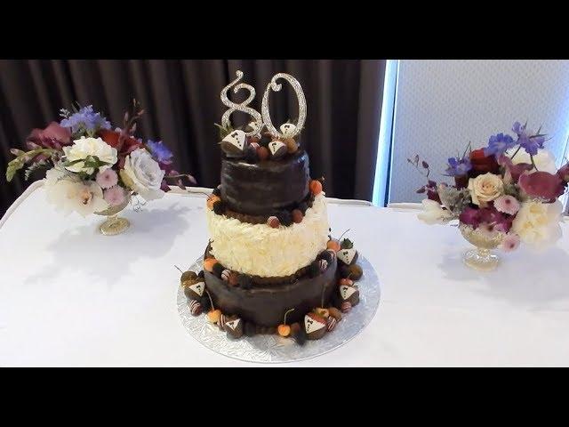 Three Tiered Birthday Cake Start To Finish Youtube