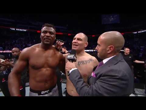 UFC Финикс: Фрэнсис Нганну vs Кейн Веласкез - Слова после боя