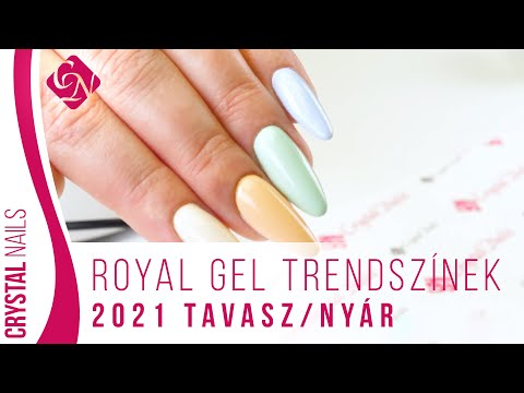 Royal Gel trendszínek