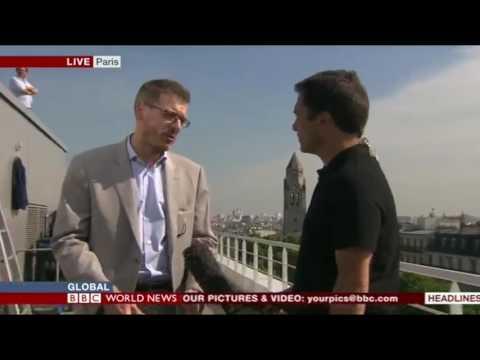 Sécurité autour de l'UEFA EURO 2016 : interview de Thibault de Montbrial par Ros Atkins de la BBC