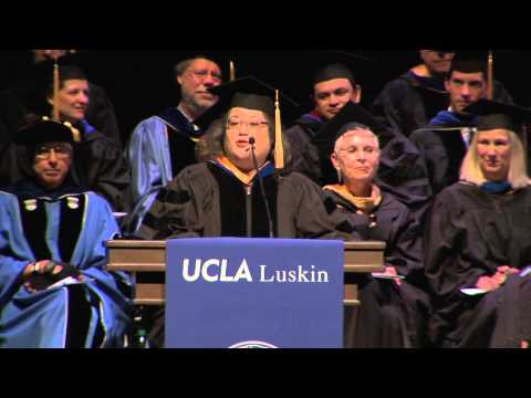 UCLA Luskin School of Public Affairs Commencement 2013