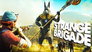 DESTROYING the STONE GUARDIAN! - Strange Brigade Gameplay