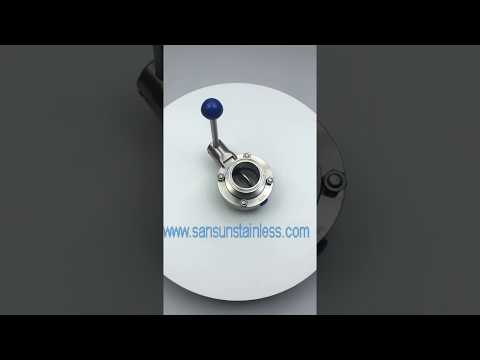 China Stainless Steel Food Grade Sanitary SS304/SS316L ...