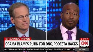 Van Jones on Trump: 'He Tweets Like My Children Do and He's Not Spoken Like a Patriot Yet'