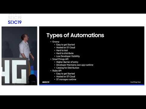 Create IoT Automation Using SmartThings New Rules API