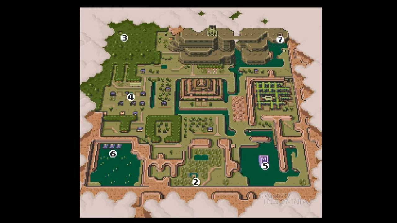 Lets Play Zelda A Link To The Past Getting The Medallions Youtube