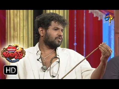 Hyper Aadi Raising Raju Performance | Jabardsth |  23rd March 2017| ETV  Telugu