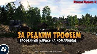 Редкий трофей на озере Комариное Driler Русская Рыбалка 4