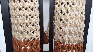 Crochet Scarf Tutorial