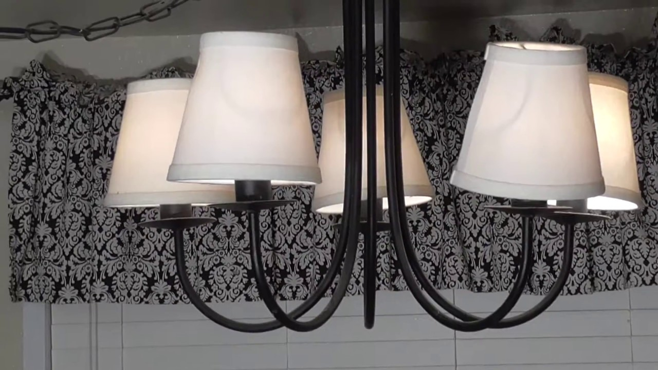 Diy Light Overhead Cieling Fixture Chandelier Removal