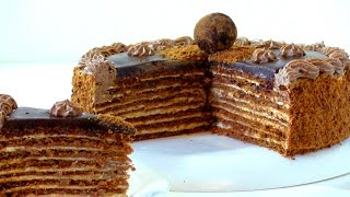 торт  Спартак. Рецепт. Cake Spartacus