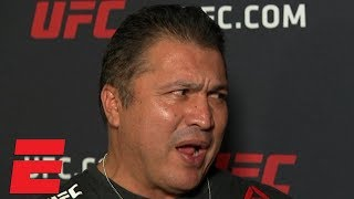 Javier Mendez: Daniel Cormier should fight Brock Lesnar, Khabib box Floyd Mayweather | UFC 230
