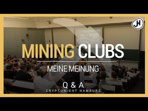 Meine Meinung zu Mining Clubs | Cryptonight Hamburg