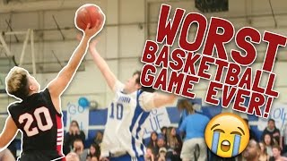 WORST BASKETBALL GAME I