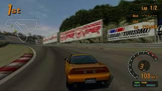 Gran Turismo 3 A-Spec PS2 | Apricot Hill Raceway II | Honda NSX Type S Zero '97