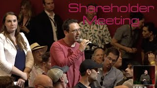 Here's What You Missed From Tesla's Shareholder Meeting!