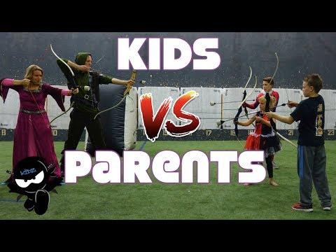 Kids vs Parents, Birthday Surprise Party!