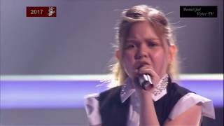 Video Stasya/Nurlan/Alina. 'Rockabye'. The Voice Kids Russia 2017. download MP3, 3GP, MP4, WEBM, AVI, FLV Januari 2018