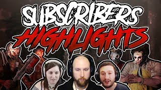 Dead by Daylight ● Subscribers ● Highlights
