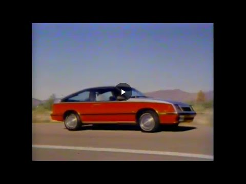 1982 Chevy Cavalier Video Manual ~ old dealership video