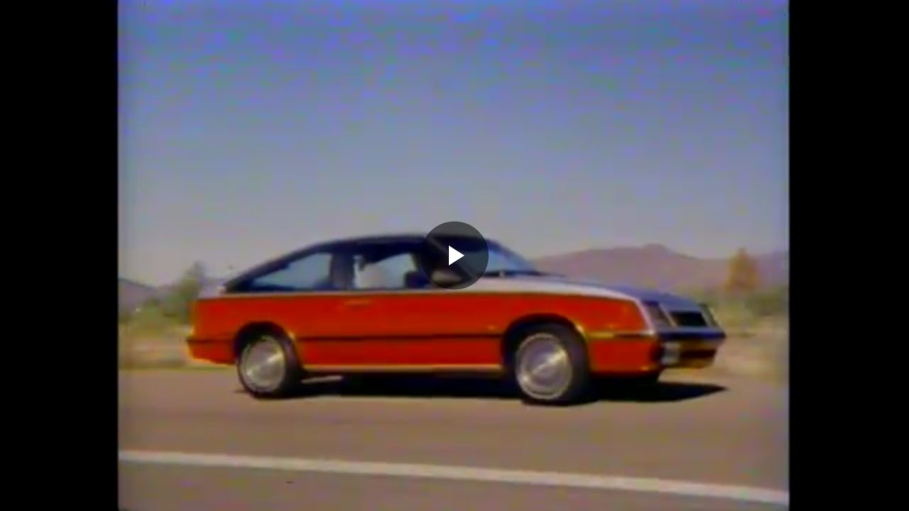 Cavalier 1982 chevrolet cavalier : 1982 Chevy Cavalier Video Manual ~ old dealership video - YouTube