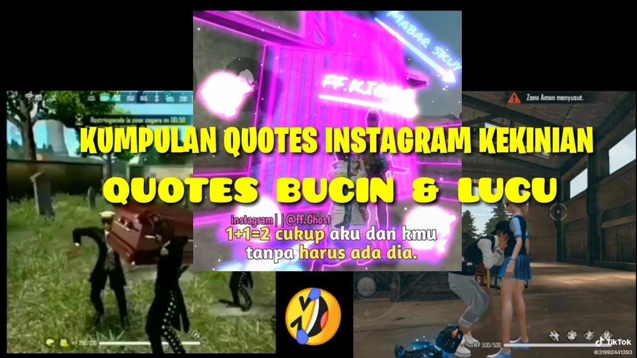 Kumpulan Quotes Instagram Bucin & Lucu Free Fire