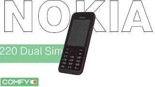 Nokia 220 Dual Sim - телефон c поддержкой 2-х SIM-карт - Видеодемонстрация от Comfy(, 2015-01-13T10:58:32.000Z)