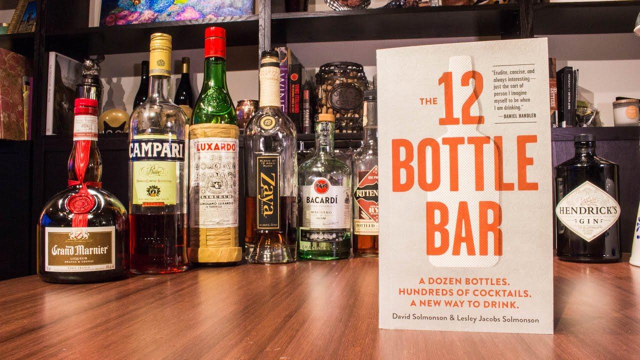Beginning Your Own 12 Bottle Bar Youtube