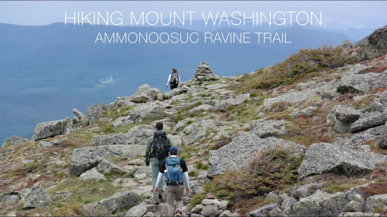 Jewell Trail Mt Washington Map.Hiking Ammonoosuc Ravine Trail Up Mount Washington Youtube
