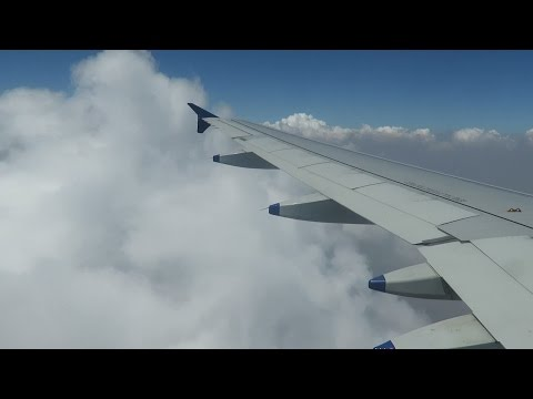 IndiGo : Airbus A320 : Mumbai to Bangalore Journey : Take Off + Aerial View Mumbai + Landing
