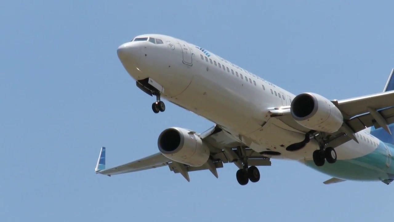 download video pesawat terbang garuda