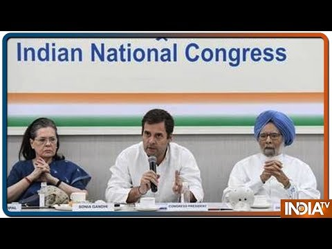 Rahul Gandhi offers to resign as party president at Congress Working Committee meeting