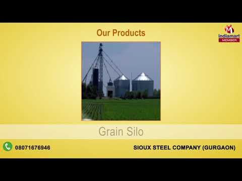 Grain Storage System & Pro Tec Building by Sioux Steel Company, Gurgaon