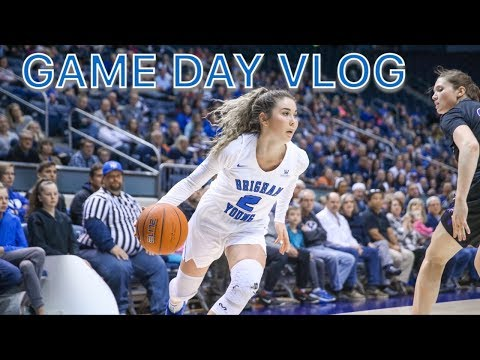 GAME DAY VLOG WITH A DIVISION 1 ATHLETE