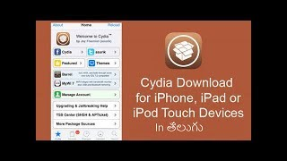 How to download cydia on iphone 4 4s 5 5c 5s 6 6s 6plus 7 7plus without jailbreak in telugu