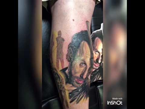Rick Grimes Tattoo