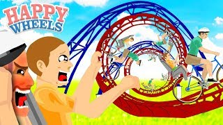 - LA ACROBACIA MAGISTRAL DE PAPI Y TIMMY HAPPY WHEELS 238