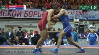 ЧР-2017. Гр.б. 59 кг. Мингиян Семенов - Степан Маранян. Финал.