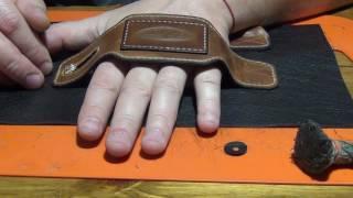 Кожаный брутальный клатч своими руками. Часть 1 из 2-х.