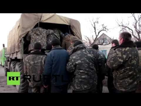 Под Луганском прошел