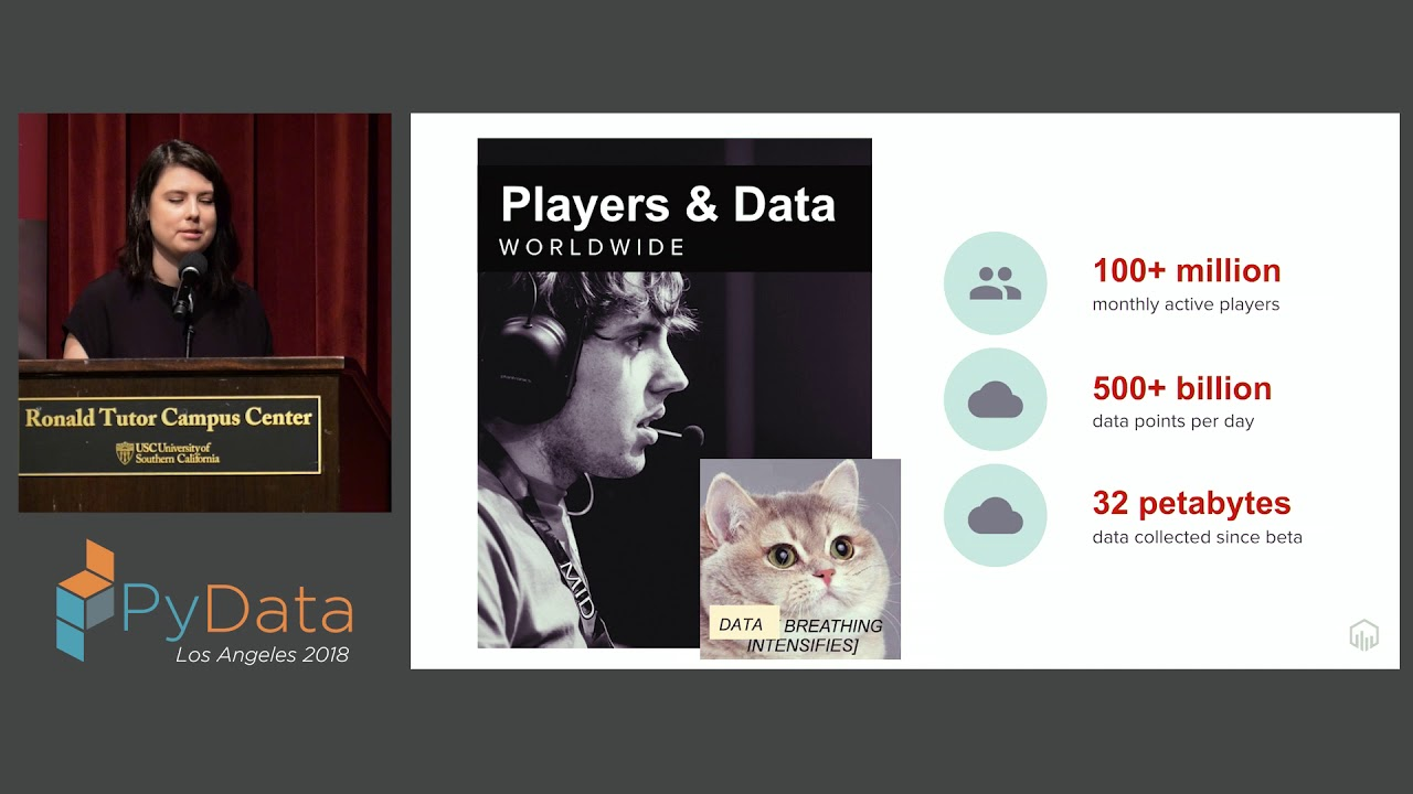Image from Keynote #1: Building a Player-Focused Data Team at Riot Games