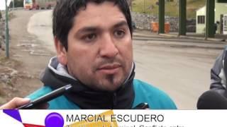 DIARIO DE BARILOCHE-MARCIAL ESCUDERO Conflicto entre maleteros y Vía Bariloche