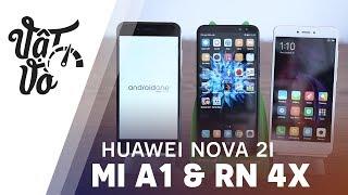 So sánh Huawei Nova 2i với Mi A1 và Redmi Note 4X