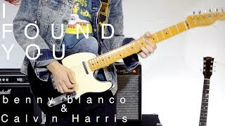 benny blanco & Calvin Harris - I Found You (Matthias & Florian Grundei Cover)