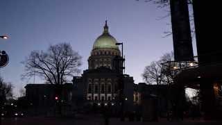 Winsconsin Madison Capitol dawn timelapse 4k