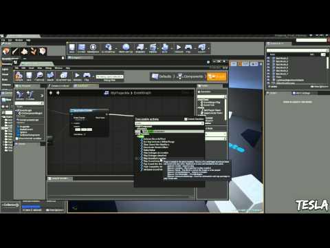 Unreal Engine Exploding Bullets ( UE4 Tutorial )   FunnyDog TV