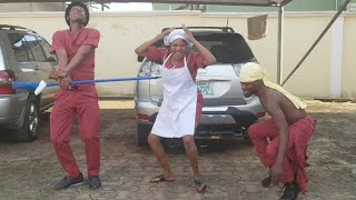 Broda Shaggi, Frank Dungan & Toyin Abraham dance to Mr spell dance challenge