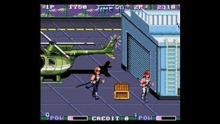 DOUBLE DRAGON II - 2 PLAYER (ARCADE - FULL GAME)